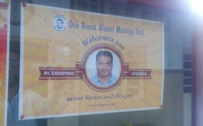 Welcome Fr. Crispino D'Souza as our new Rector & Delegate – 17-06-17